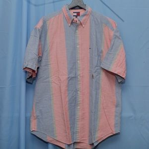 VTG 90s Tommy Hilfiger Short Sleeve Button Down